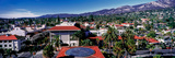 Elevated View of Buildings in the City, Santa Barbara, California, USA Photographic Print by  Panoramic Images