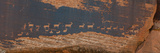 Petroglyphs on Rock, Hunter Panel, Moab, Utah, USA Photographic Print by  Panoramic Images