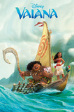 Disney: Vaiana- Open Water Adventure Kunstdrucke