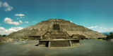 Pyramid of the Sun in the Teotihuacan Archaeological Site, Valley of Mexico, Mexico Photographic Print by  Panoramic Images