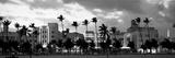Buildings Lit Up at Dusk, Ocean Drive, Miami Beach, Florida, USA Reproduction photographique par  Panoramic Images