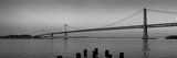 Suspension Bridge over Pacific Ocean, Bay Bridge, San Francisco Bay, San Francisco, California, USA Photographic Print by  Panoramic Images