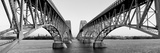 South Grand Island Bridges, New York State, USA Photographic Print by  Panoramic Images