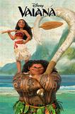 Disney: Vaiana- Navigator & Warrior Plakát