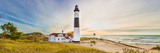 Lighthouse on the Coast, Big Sable Point Lighthouse, Lake Michigan, Ludington, Mason County Papier Photo par  Panoramic Images