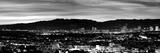 High Angle View of a City at Dusk, Culver City, Santa Monica Mountains, West Los Angeles Photographic Print by  Panoramic Images