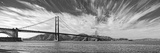 Suspension Bridge over Pacific Ocean, Golden Gate Bridge, San Francisco Bay, San Francisco Photographic Print by  Panoramic Images