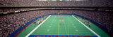 Spectators Watching a Football Match in a Stadium, Giants Stadium, East Rutherford Fotografisk trykk av Panoramic Images,
