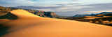 Sand Dunes in a Desert at Dusk, Coral Pink Sand Dunes State Park, Utah, USA Photographic Print by  Panoramic Images