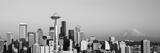 Skyline, Seattle, Washington State, USA Fotodruck von  Panoramic Images