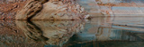 Reflection on Rock Wall, Lake Powell, Arizona, USA Photographic Print by  Panoramic Images