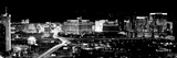 City Lit Up at Night, Las Vegas, Nevada, USA Fotografisk tryk af Panoramic Images,
