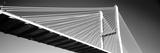 Low Angle View of a Bridge, Talmadge Memorial Bridge, Savannah, Georgia, USA Photographic Print by  Panoramic Images