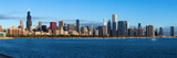 John G Shedd Aquarium and Skylines at the Waterfront, Chicago, Cook County, Illinois, USA Photographic Print by  Panoramic Images