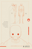 Star Wars: Rogue One- K-2S0 Plans Schematics Poster
