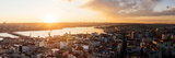 Elevated View of Cityscape from the Galata Tower, Beyoglu, Istanbul, Turkey Photographic Print by  Panoramic Images