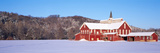 Barn in a Field, Columbia County, Pennsylvania, USA Photographic Print by  Panoramic Images