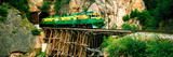 Train on a Bridge, White Pass and Yukon Route Railroad, Skagway, Alaska, USA Photographic Print by  Panoramic Images