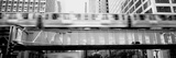 The El Elevated Train Chicago Il Photographic Print by  Panoramic Images