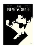 Bob Dylan – The New Yorker Cover – October 24, 2016 Regular Giclee Print by Malika Favre