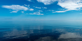 Reflection of Clouds on Water, Lake Superior, Minnesota, USA Photographic Print by  Panoramic Images