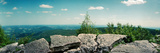 View from the Pinnacle of the Appalachian Trail, Blue Mountain, Appalachian Mountains Photographic Print by  Panoramic Images