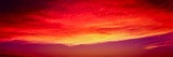 View of Cloudy Sky During Sunset, Santa Barbara, California, USA Photographic Print by  Panoramic Images