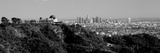 Observatory on a Hill with Cityscape in the Background, Griffith Park Observatory, Los Angeles Fotografisk tryk af Panoramic Images,