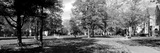 Group of People at a University Campus, University of Notre Dame, South Bend, Indiana, USA Photographic Print by  Panoramic Images