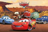 Disney: Cars-Lovable Characters Póster
