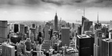 Aerial View of Cityscape, New York City, New York State, USA Reproduction photographique par  Panoramic Images