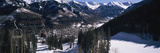 Ski Lifts over Telluride, San Miguel County, Colorado, USA Photographic Print by  Panoramic Images