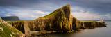 View of Neist Point Peninsula, Isle of Skye, Scotland Stampa fotografica di Panoramic Images,