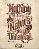 Fantastic Beasts- Nothing Unnatural In Nature Reprodukcje