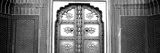 Close-Up of a Closed Door of a Palace, Jaipur City Palace, Jaipur, Rajasthan, India Photographic Print by  Panoramic Images
