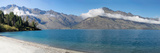 View of the Wilson Bay, Lake Wakatipu Seen from Glenorchy-Queenstown Road, Otago Region Photographic Print by  Panoramic Images
