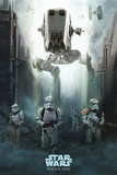 Star Wars: Rogue One- Stormtrooper Advance Poster