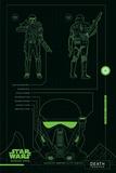 Star Wars: Rogue One- Death Trooper Details Plakaty