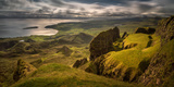 The Table in Quiraing at Trotternish Ridge, Isle of Skye, Scotland Photographic Print by  Panoramic Images