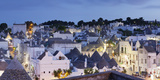 Trulli, Traditional Houses, Rione Monti Area, Alberobello, UNESCO World Heritage Site Photographic Print by Markus Lange