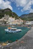 Amalfi from Harbour, Amalfi, Costiera Amalfitana (Amalfi Coast) Photographic Print by Frank Fell