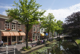 Canal Scene in Delft, Holland, Europe Photographic Print by James Emmerson