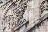 The Roof of Duomo Di Milano (Milan Cathedral), Milan, Lombardy, Italy, Europe Photographic Print by Julian Elliott