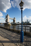 Tower Bridge and River Thames, London, England, United Kingdom, Europe Photographic Print by Frank Fell