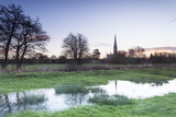 Salisbury Cathedral, Built in the 13th Century in the Gothic Style Photographic Print by Julian Elliott
