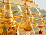 Shwedagon Pagoda, the Most Sacred Buddhist Pagoda in Myanmar, Yangon (Rangoon) Photographic Print by Craig Easton