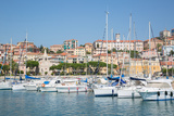 View of Imperia Harbour, Imperia, Liguria, Italy, Europe Photographic Print by Frank Fell