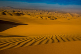 Sand Dunes at Huacachina Oasis, Peru, South America Photographic Print by Laura Grier