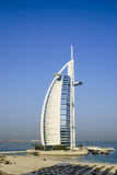 Burj Al Arab Hotel, Iconic Dubai Landmark, Jumeirah Beach, Dubai, United Arab Emirates, Middle East Photographic Print by Fraser Hall