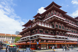 Buddha Tooth Relic Temple, Chinatown, Singapore, Southeast Asia, Asia Photographic Print by Fraser Hall